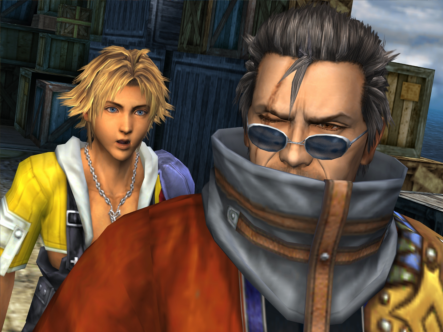 auron and tidus